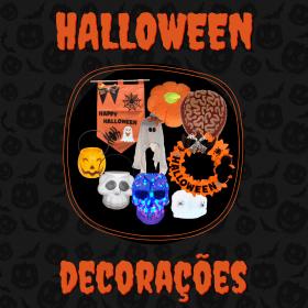Banner Halloween Decoração