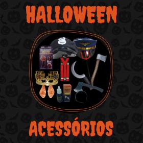 Banner Halloween Acessórios