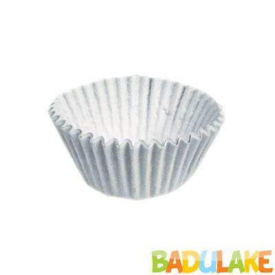 Forminha Lisa de Papel Número 4 Branco - 100 unidades