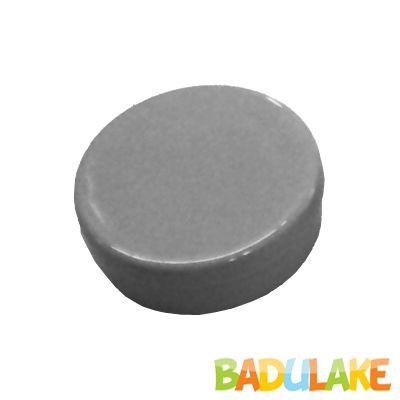 Latinha de Plástico para Lembrancinha Cinza - 10 unidades
