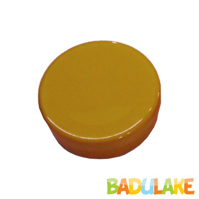 Latinha de Plástico para Lembrancinha Dourada - 10 unidades