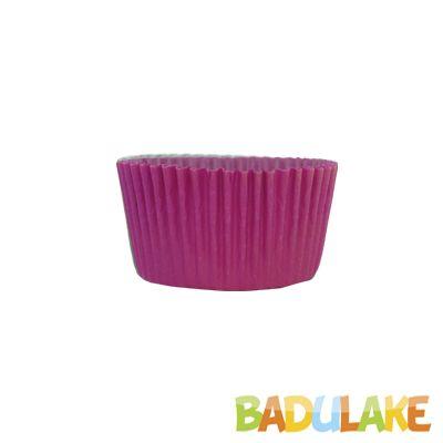 Forminha Cupcake Liso Pink- 45 unidades