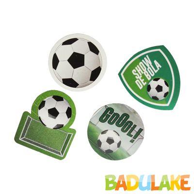 Apliques Futebol - 12 unidades