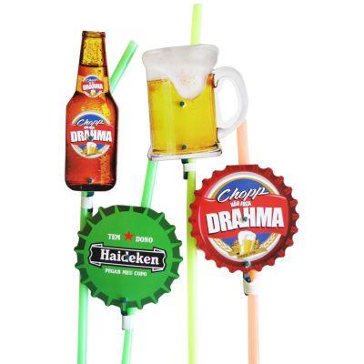 Canudo Cerveja II - 10 unidades