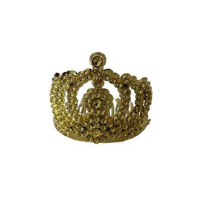 Mini Coroa Princesa Dourada