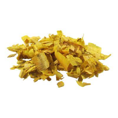 Serragem Decorativa Amarela 70 gramas