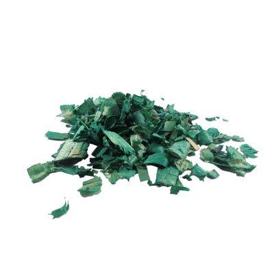 Serragem Decorativa Verde 70 gramas