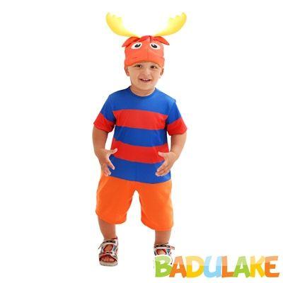 Fantasia Infantil Tyrone Backyardigans