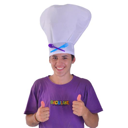 Chapéu Cozinheiro Acoplado