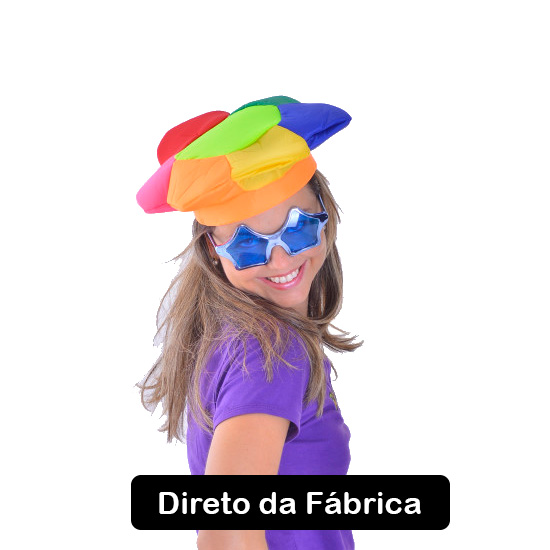 Chapéu Margarida Flor