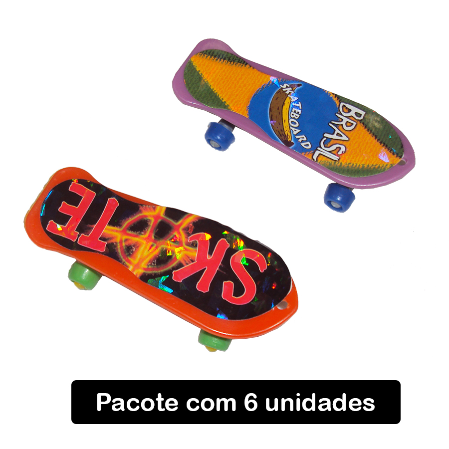 Mini Skate - 6 unidades