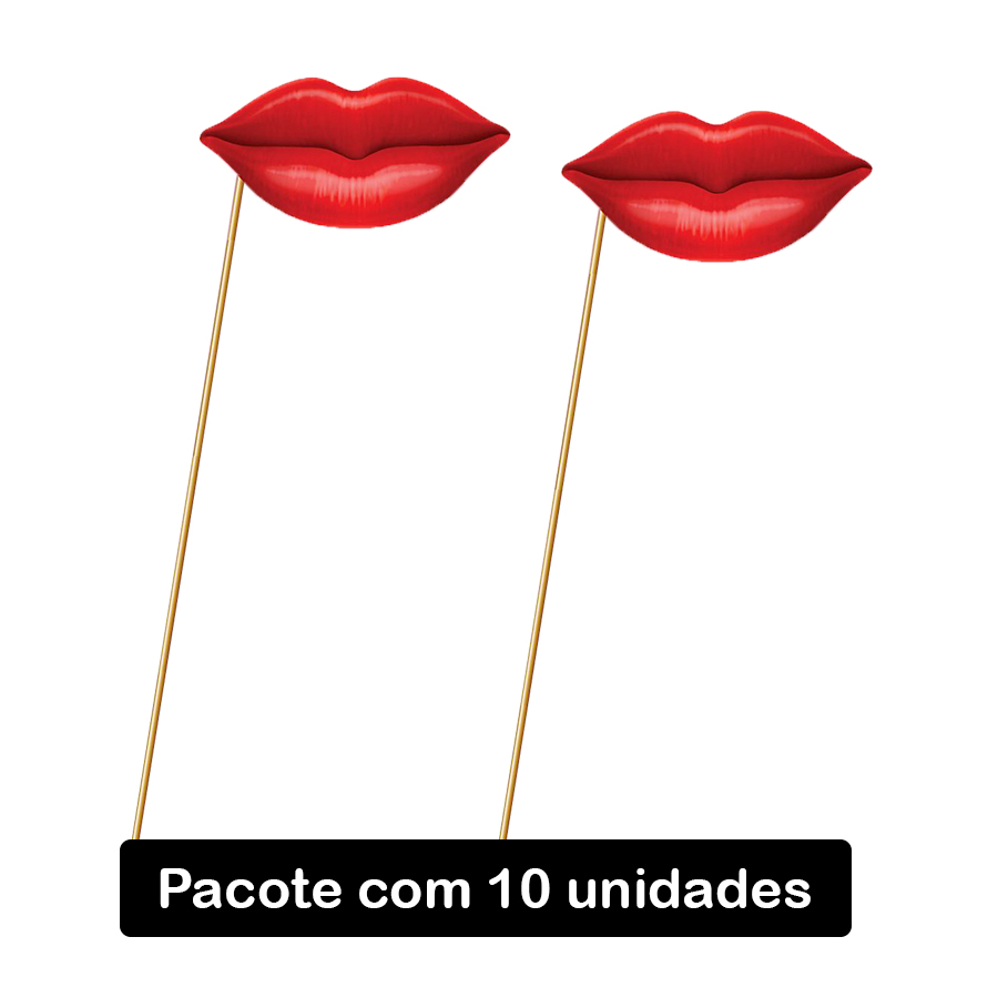Palito Beijo - 10 unidades