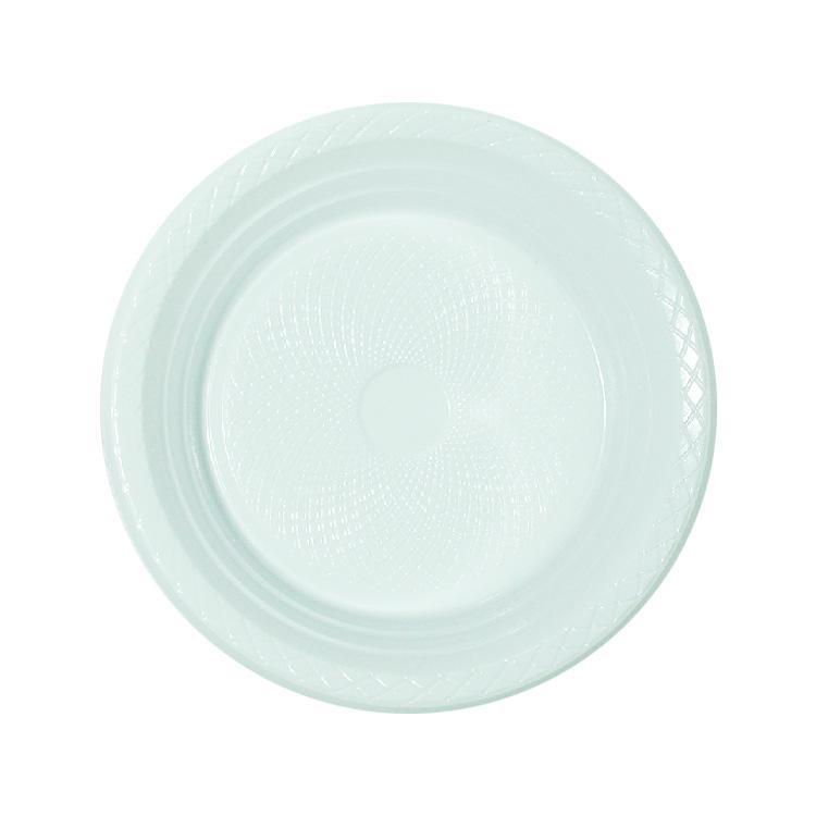 Prato Branco para Churrasco - 10 unidades