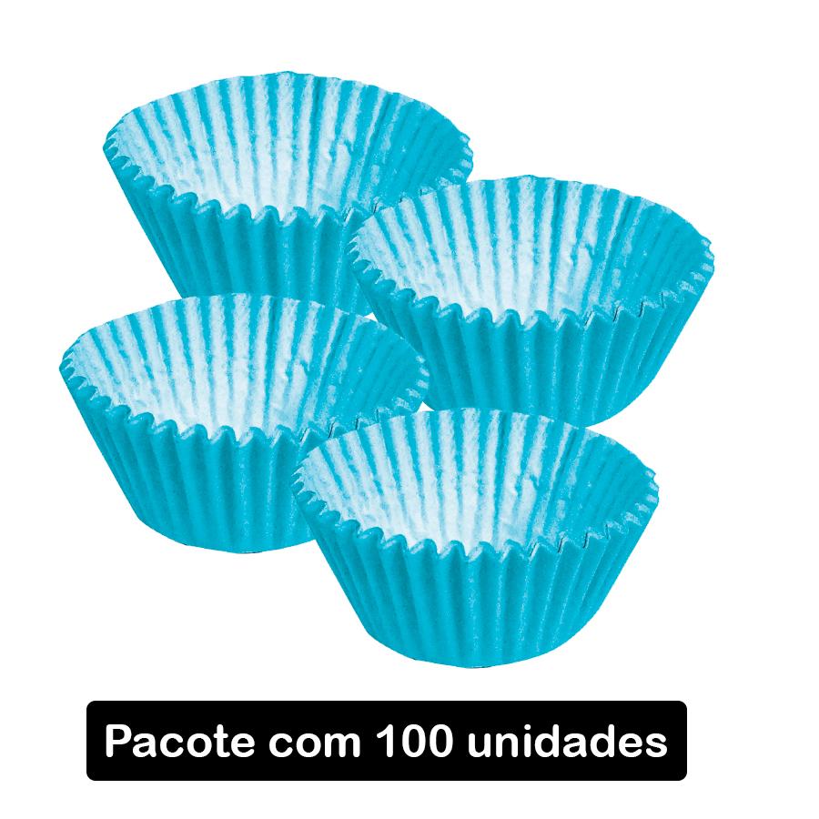 Forminha de Papel num 3 Azul Claro c/100