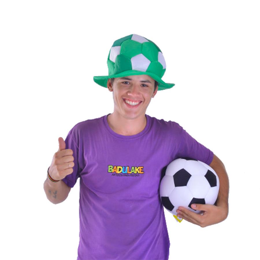Chapéu Bola Times de Futebol Verde e Branco
