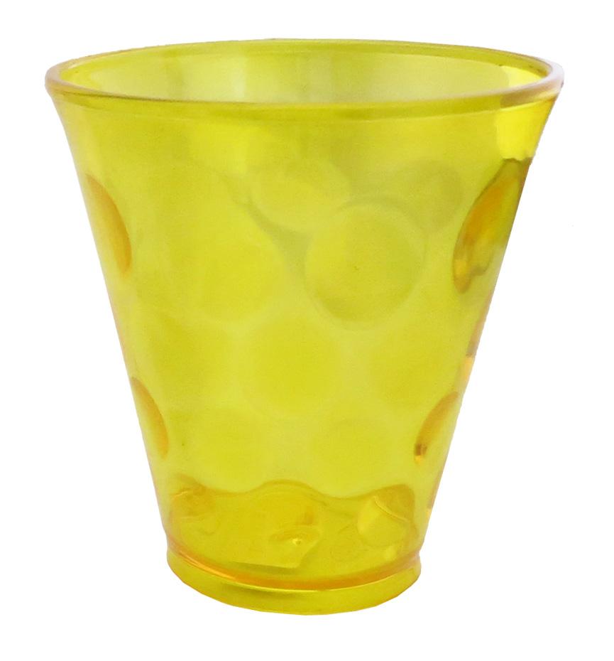 Copo Coquetel Bola 360ml Amarelo