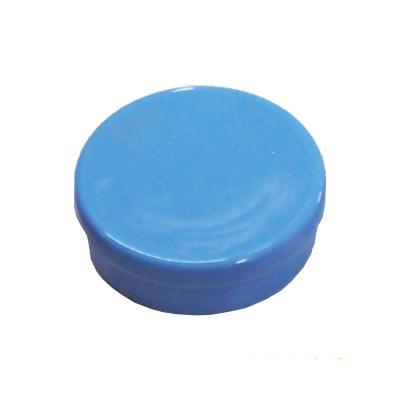 Latinha de Plástico para Lembrancinha Azul Clara - 10 unidades