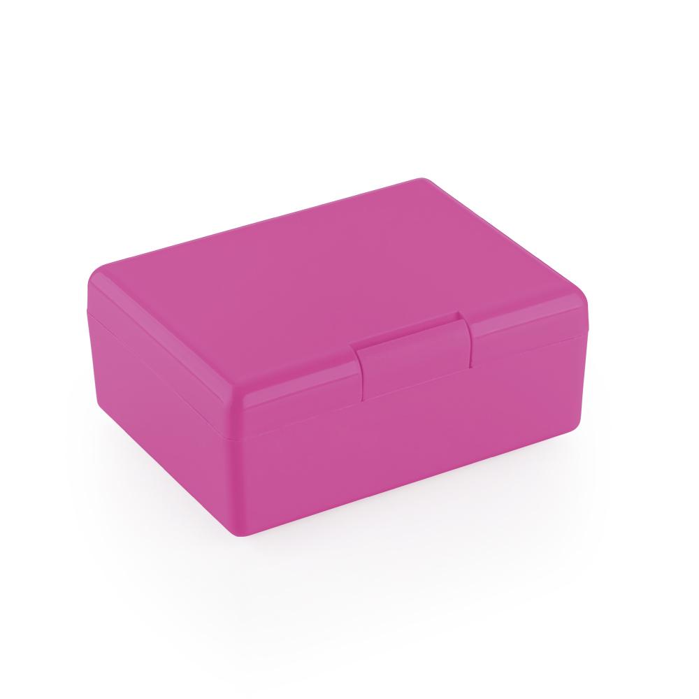 Caixinha Plástica Retangular 120x90x45mm Pink