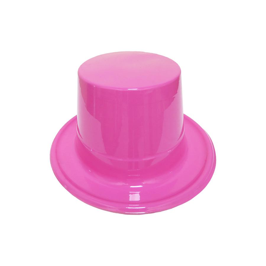 Cartola Mágico Plástica Rosa