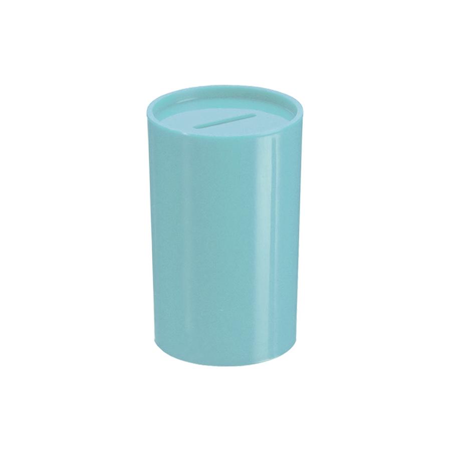 Cofrinho de Plástico Azul Claro