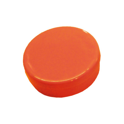 Latinha de Plástico para Lembrancinha Laranja - 10 unidades