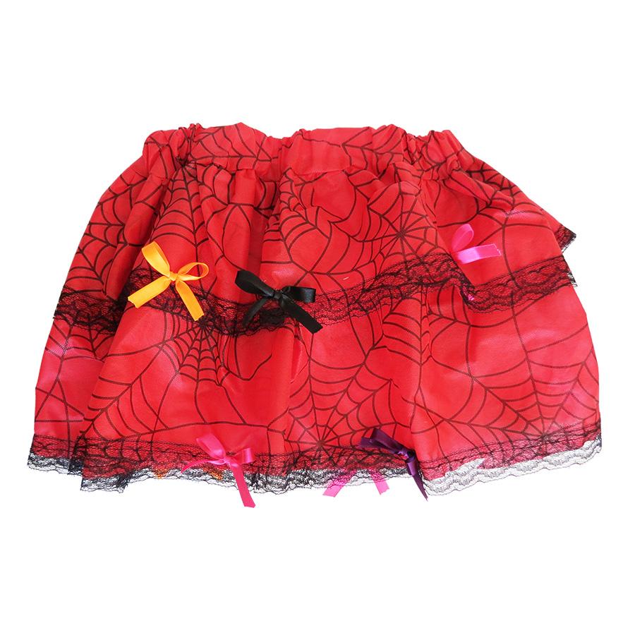 Saia Halloween Infantil Vermelha
