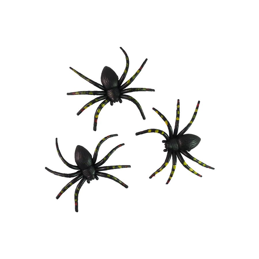 Aranha Plástica - 3 unidades