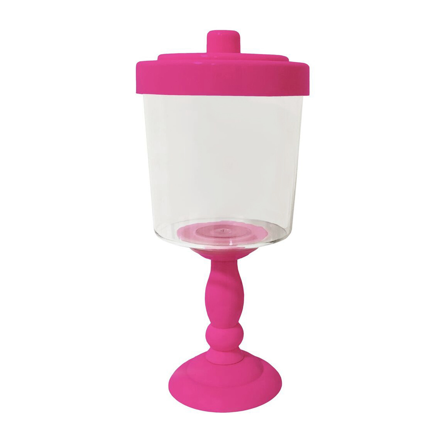 Baleiro Decorativo Pink 26 x 11,6 cm