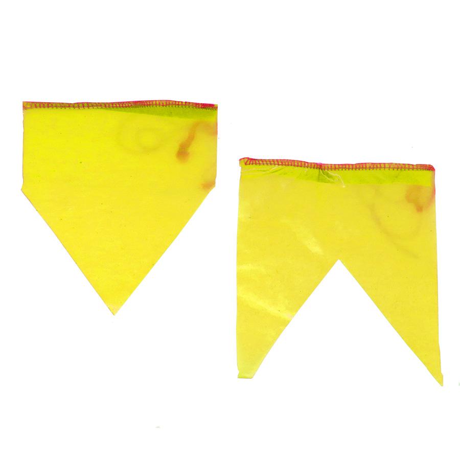 Bandeirinha de Festa Junina Plástico com 10 metros - Amarela