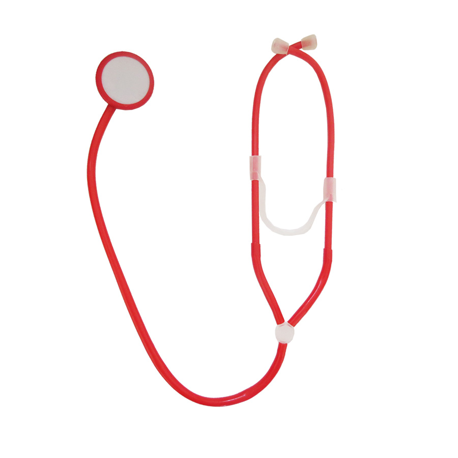 Acessório Médico Enfermeira Estetoscópio de Plástico