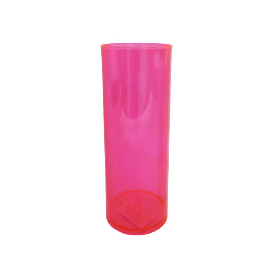 Copo Long Drink Rosa 350ml