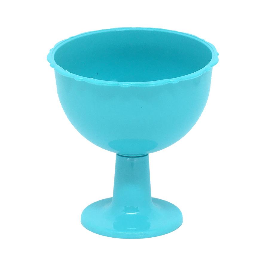 Taça Inclinada Pequena Azul Tiffany