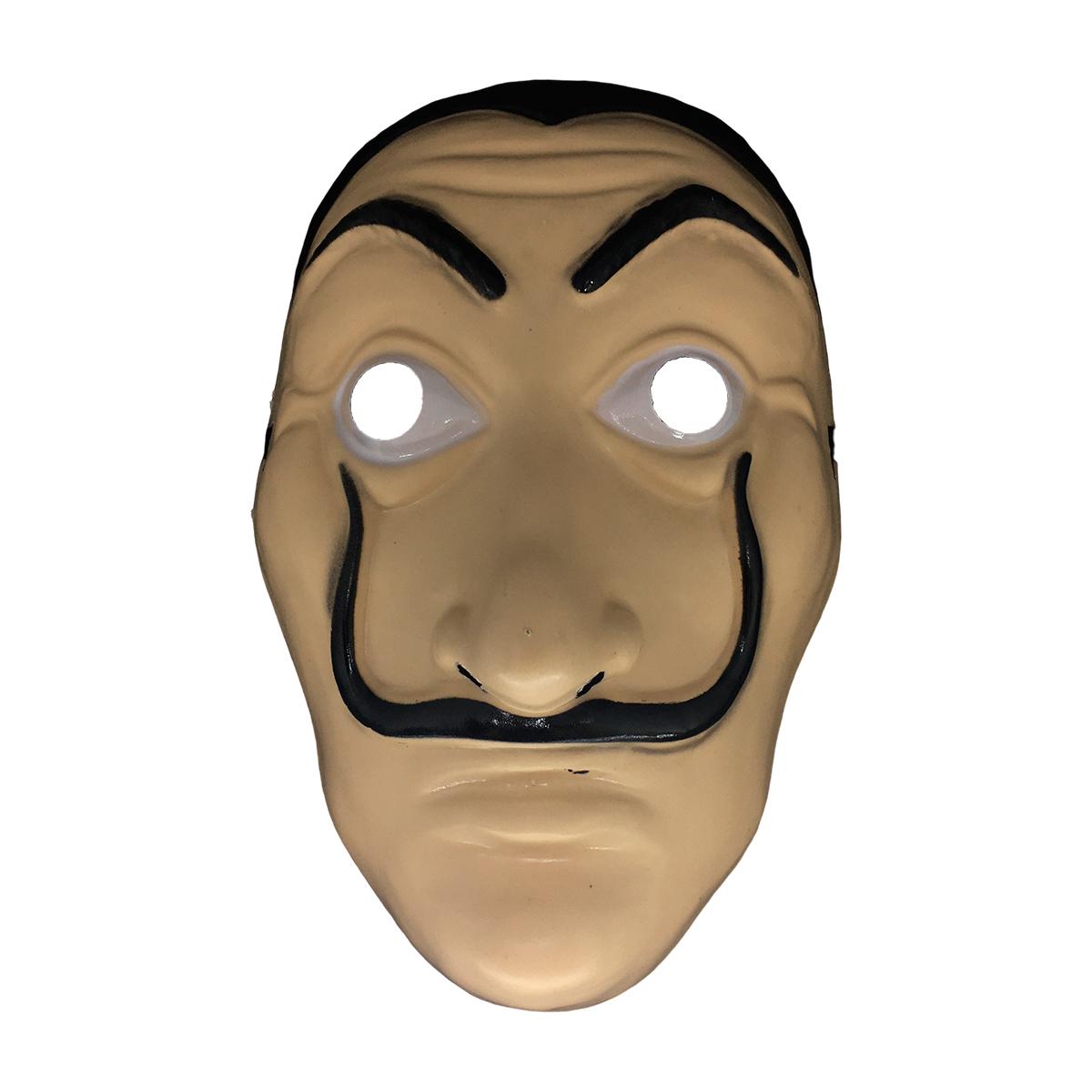 Máscara Salvador Dali La Casa de Papel de Plástico