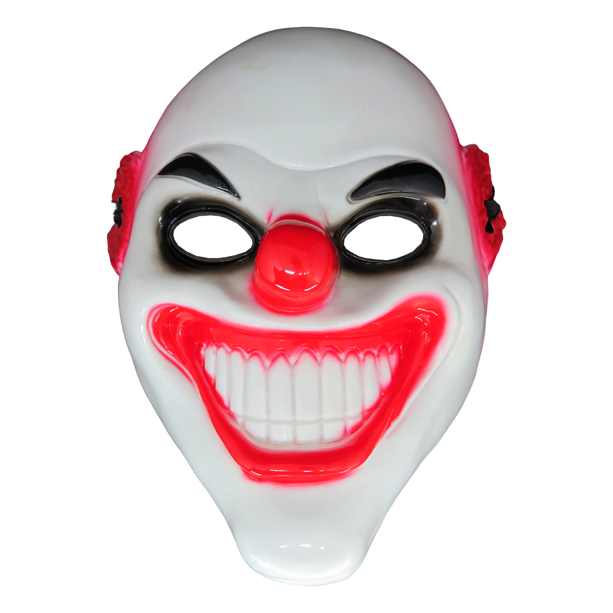 Máscara Palhaço Olho Preto Halloween