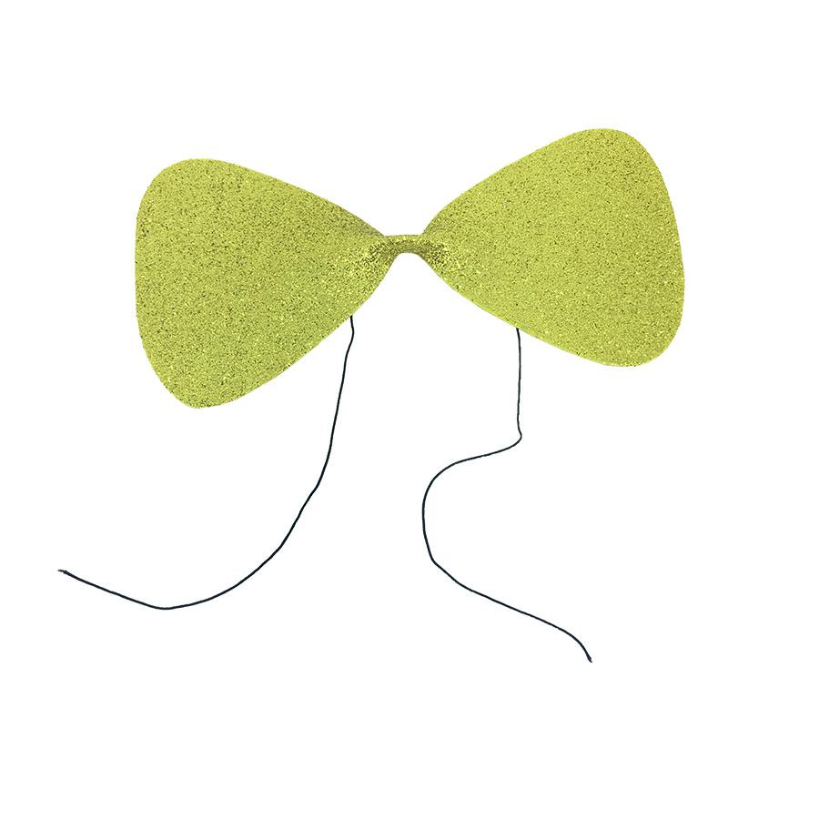 Gravata Borboleta Glitter EVA Dourada Ref. 132N