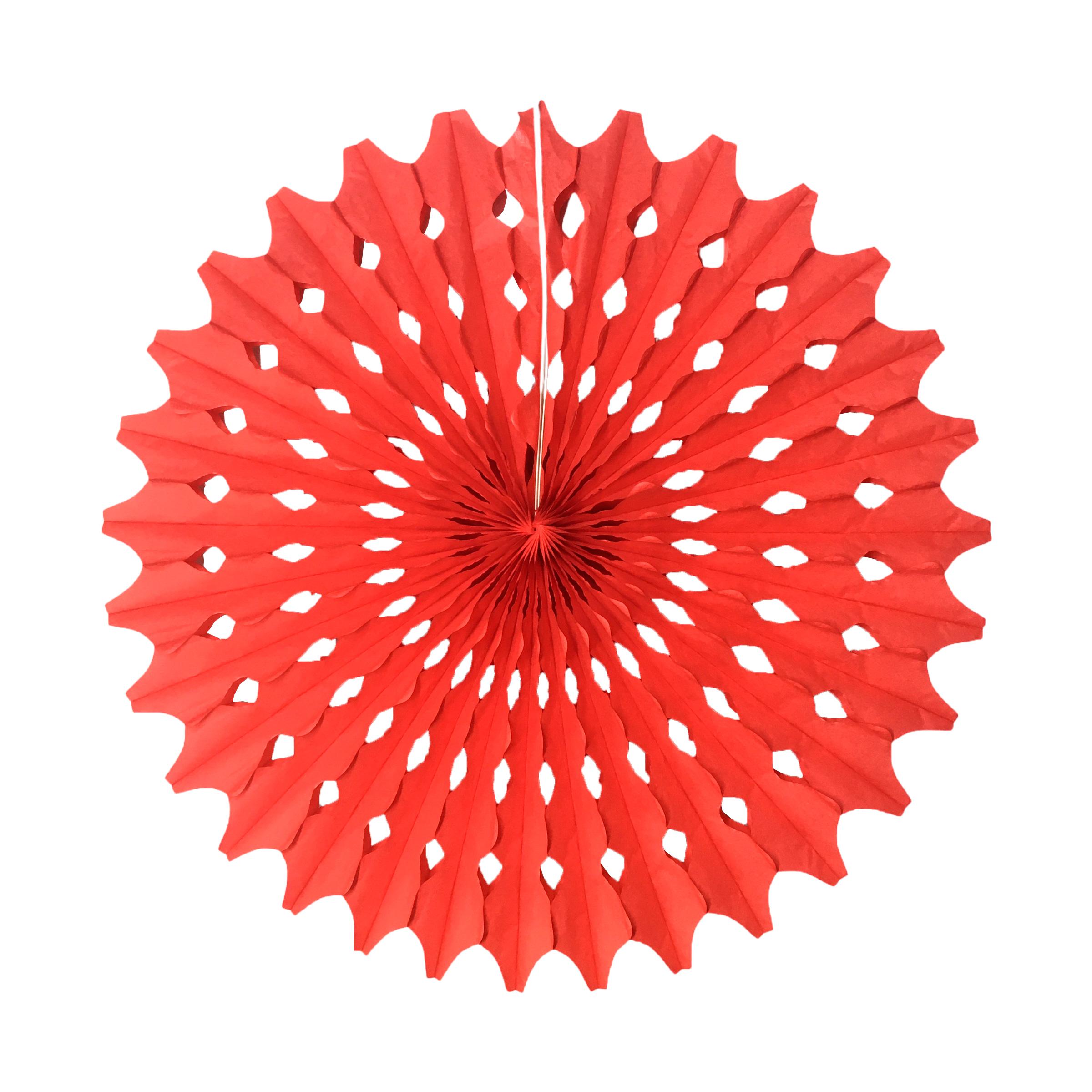 Guirlanda Redonda Vermelha 500 mm