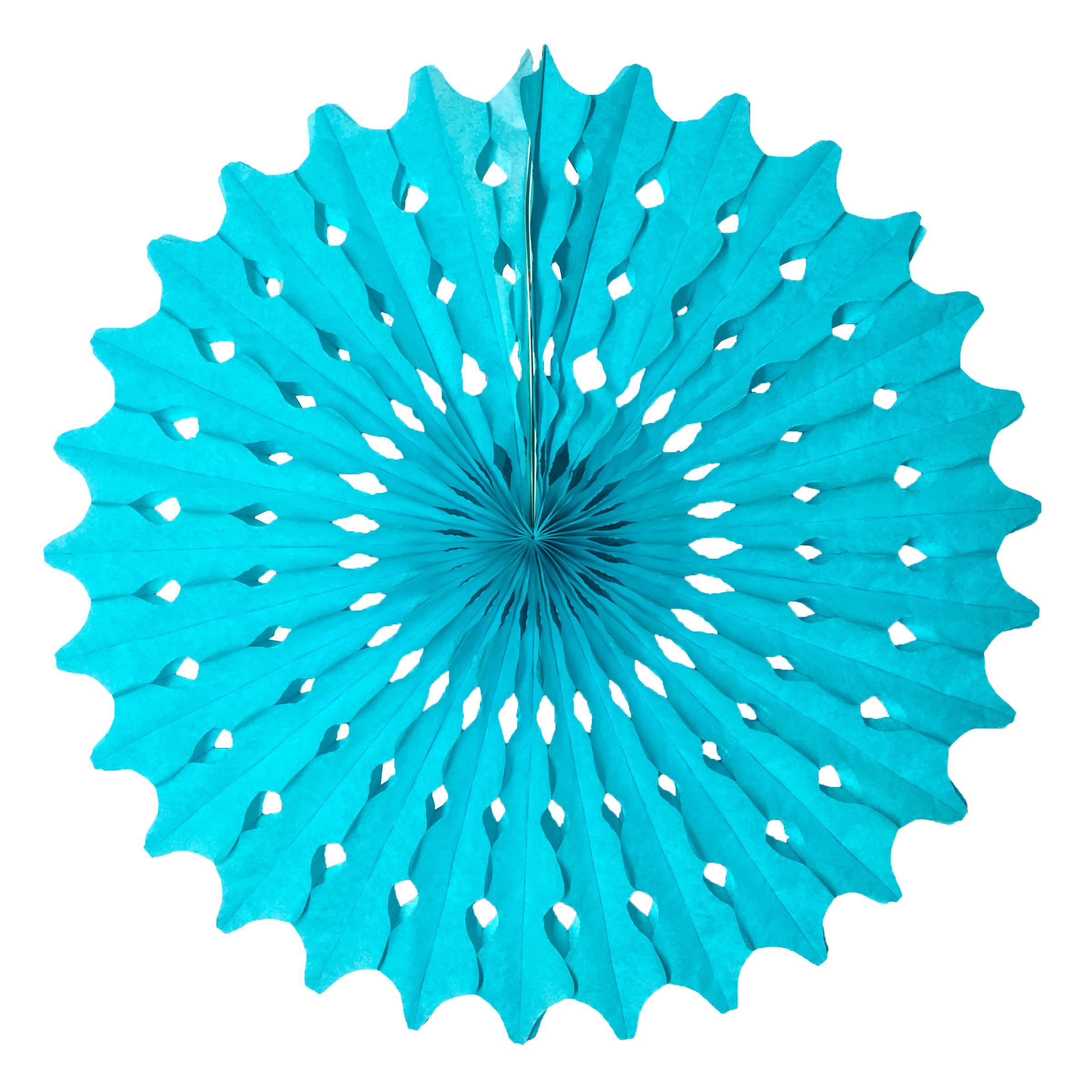 Guirlanda Redonda Azul Tiffany 500 mm