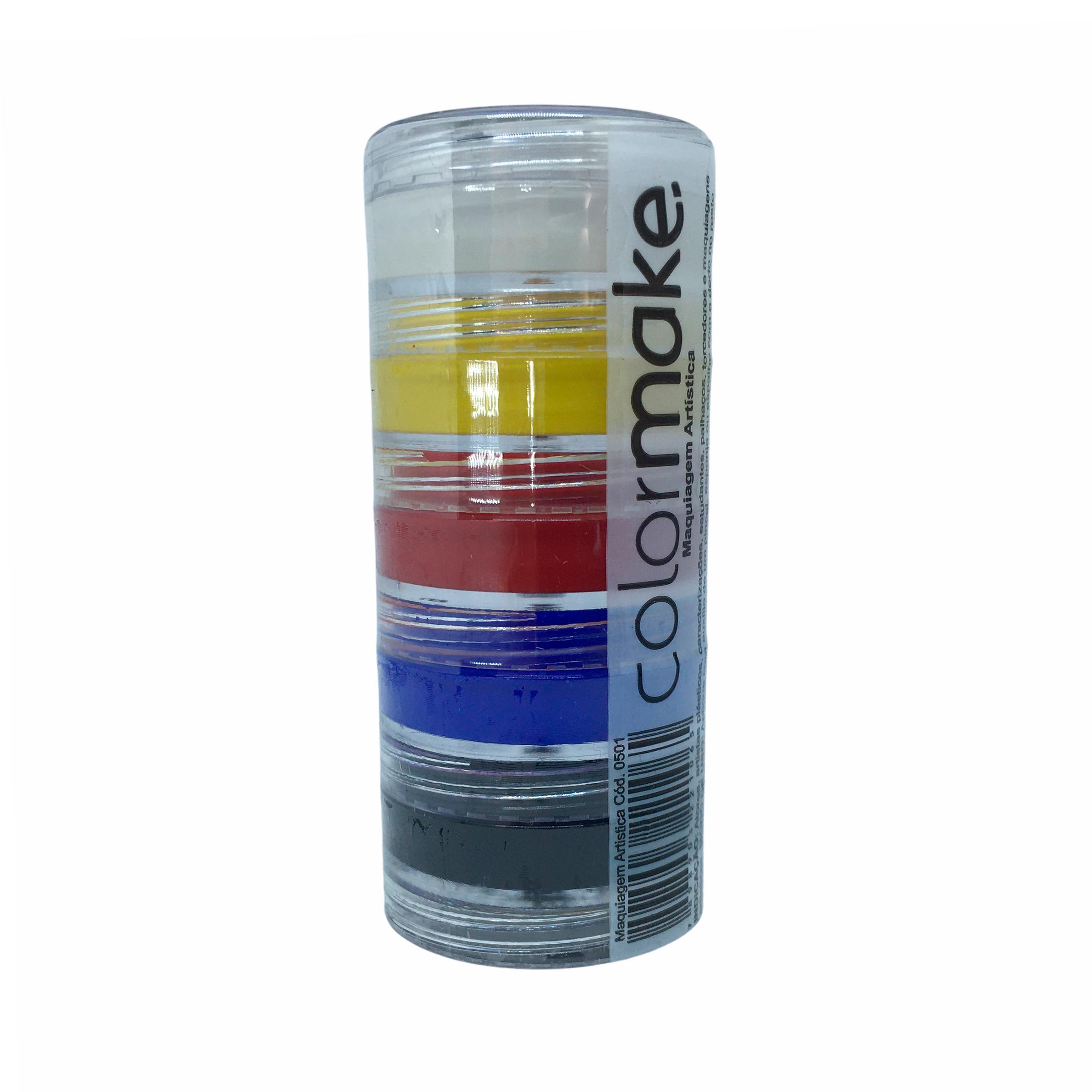 Tinta Cremosa Colormake 5 Cores - 4g (cada)