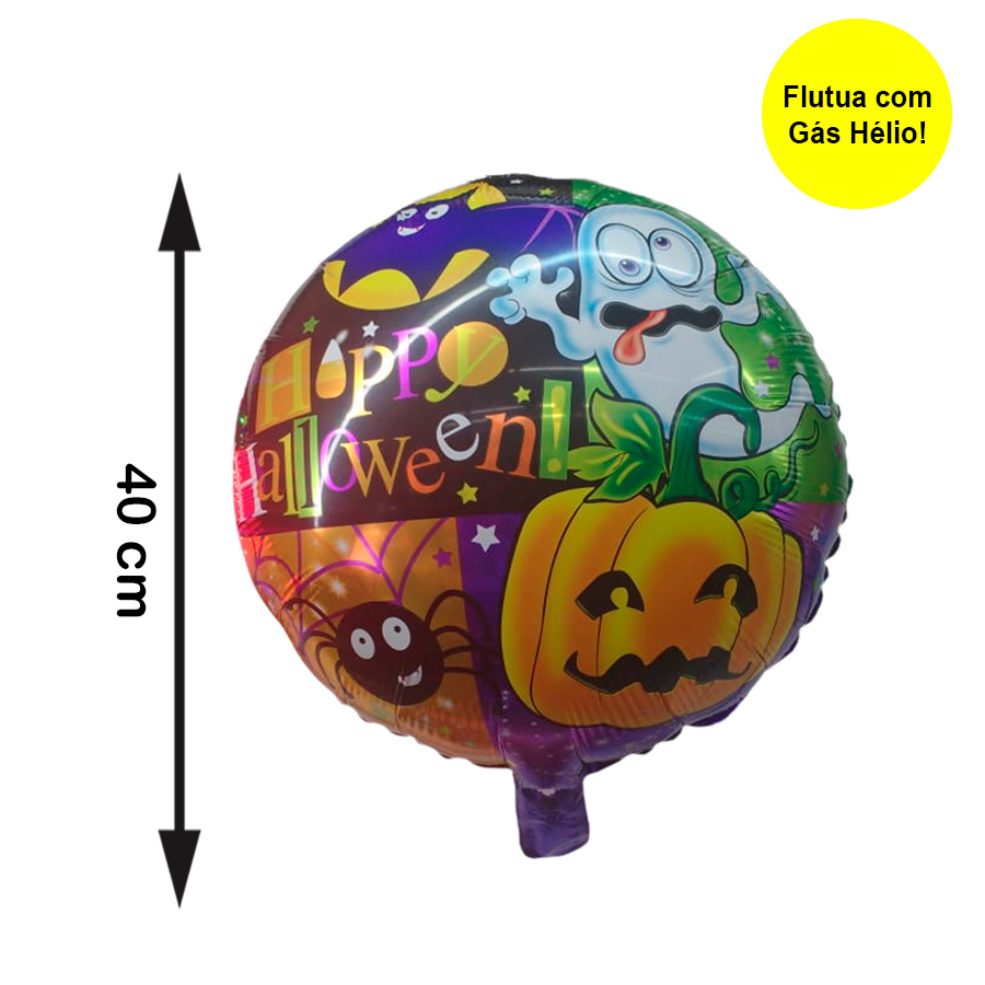 Balão Metalizado Halloween