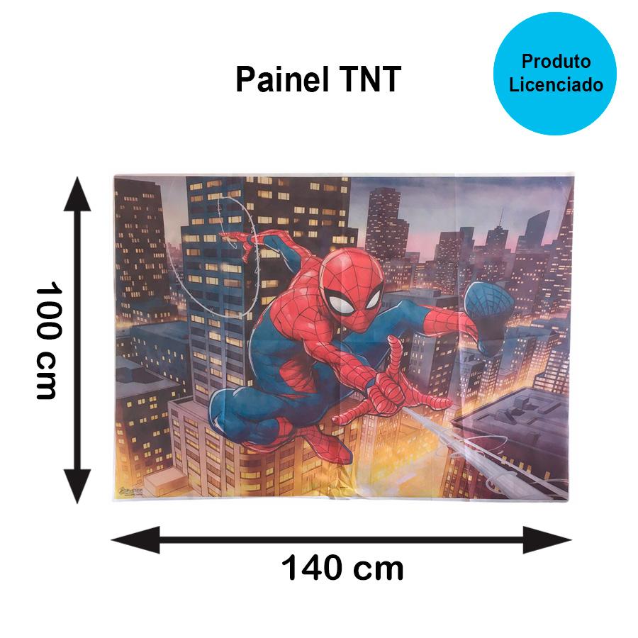 Painel TNT Homem Aranha
