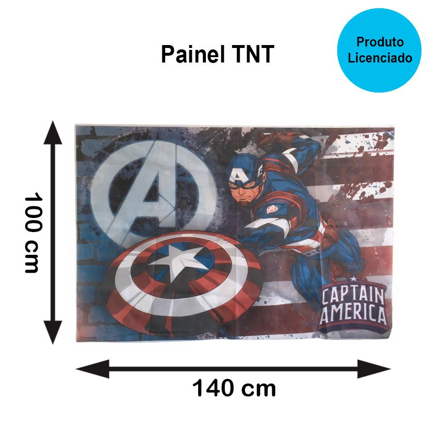 Painel TNT Capitão América