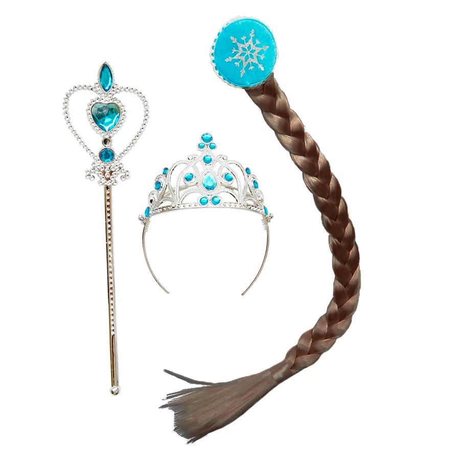 Kit Princesa Frozen Castanho