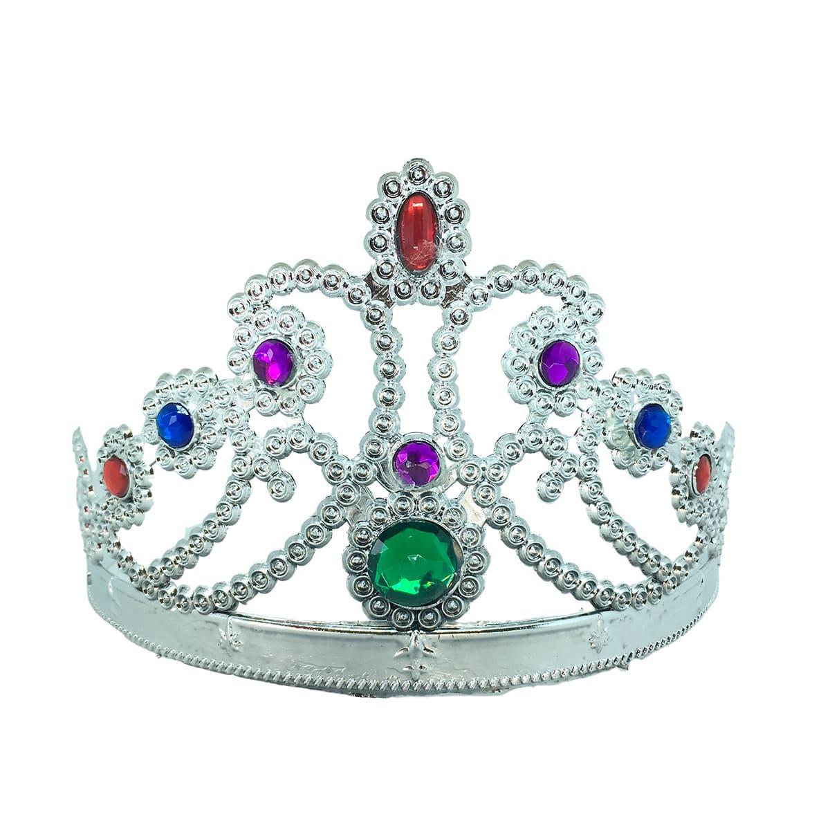 Coroa Princesa Luxo Prata