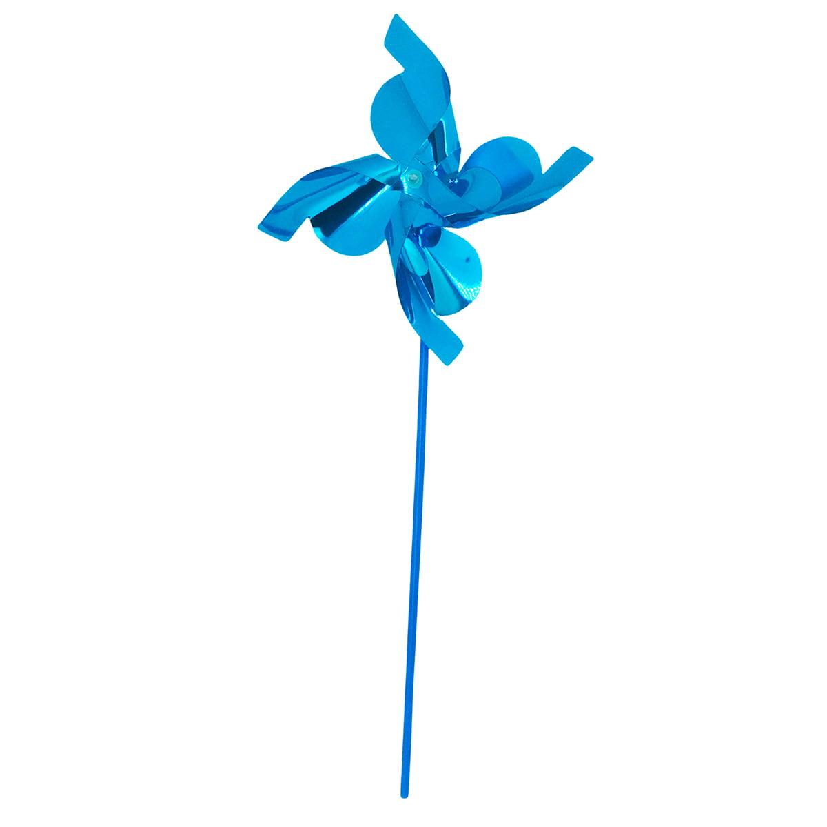 Catavento Metalizado Azul Claro - 12 unidades