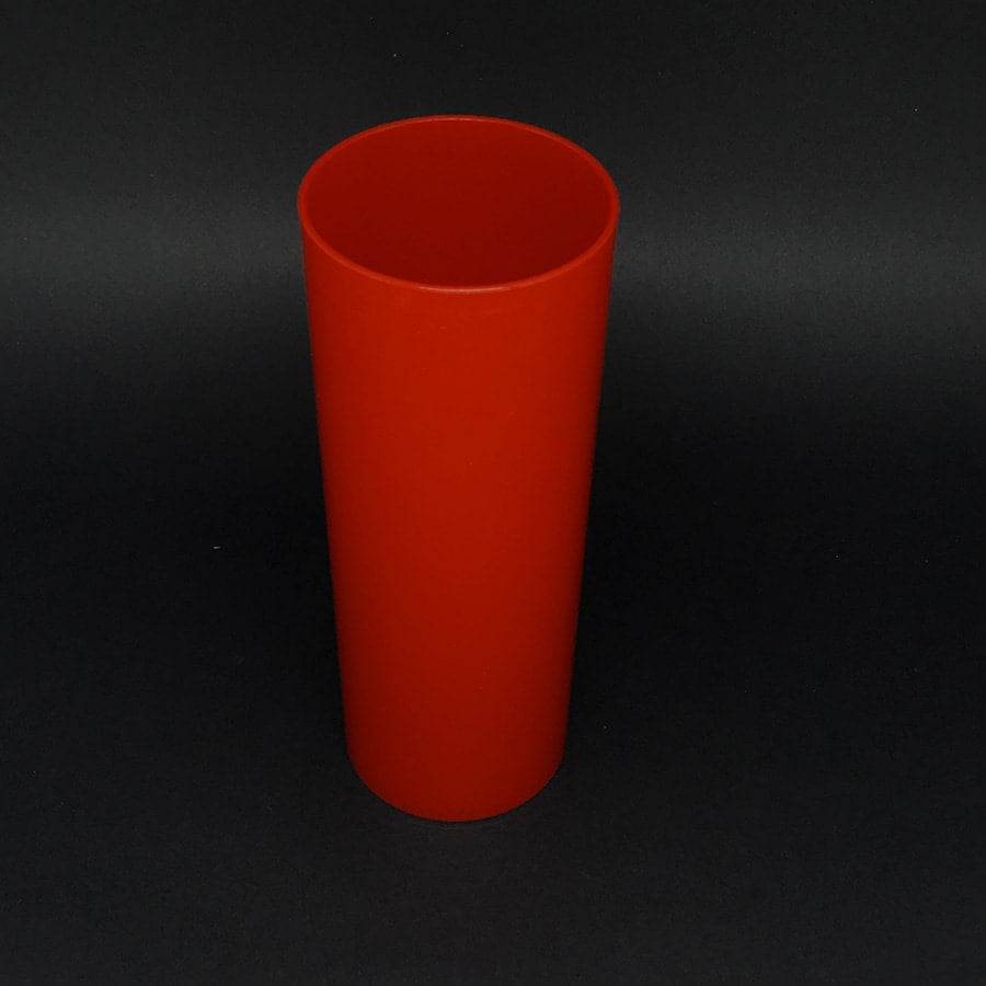 Copo Long Drink Vermelho 350ml