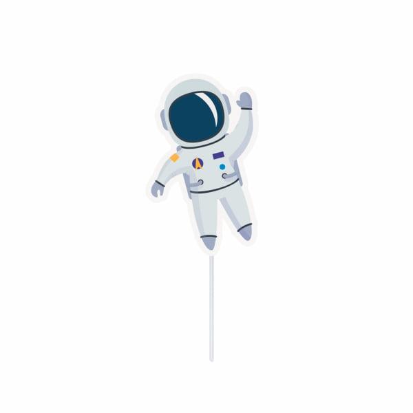 Topper Decorativo Astronauta - 10 unidades