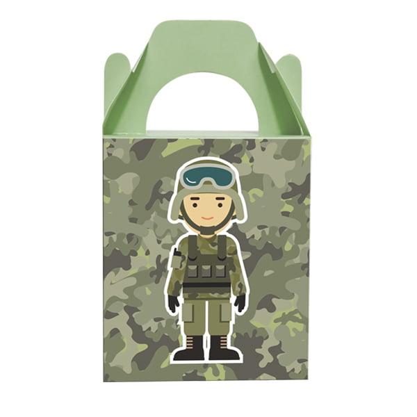 Caixa Surpresa Festa Militar - 8 unidades
