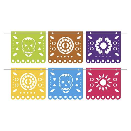 Bandeirola Mexicano com 6 peças