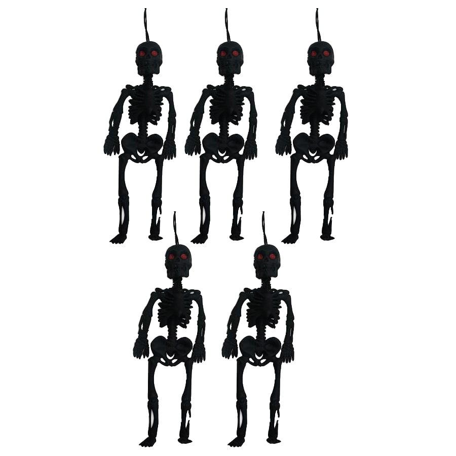 Esqueleto de Borracha 12 cm - 5 unidades