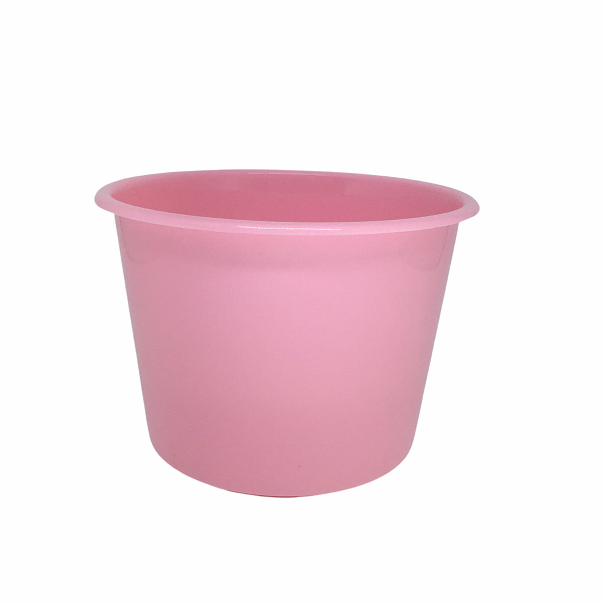 Balde de Pipoca Grande 1,5 Litros Rosa Claro